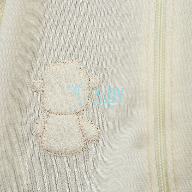 Ivory merino wool DOLLY playsuit