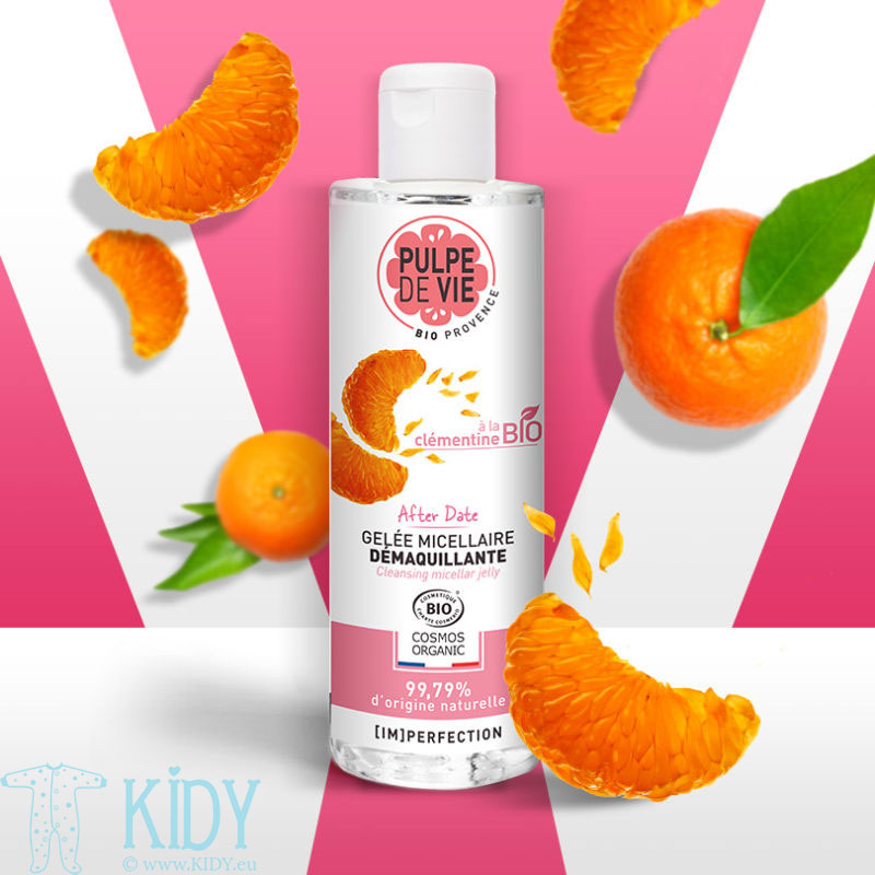 AFTER DATE Micellar water for removing make-up with clementine extract