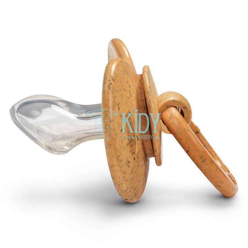 Бамбуковая ортодонтическая пустышка Gold