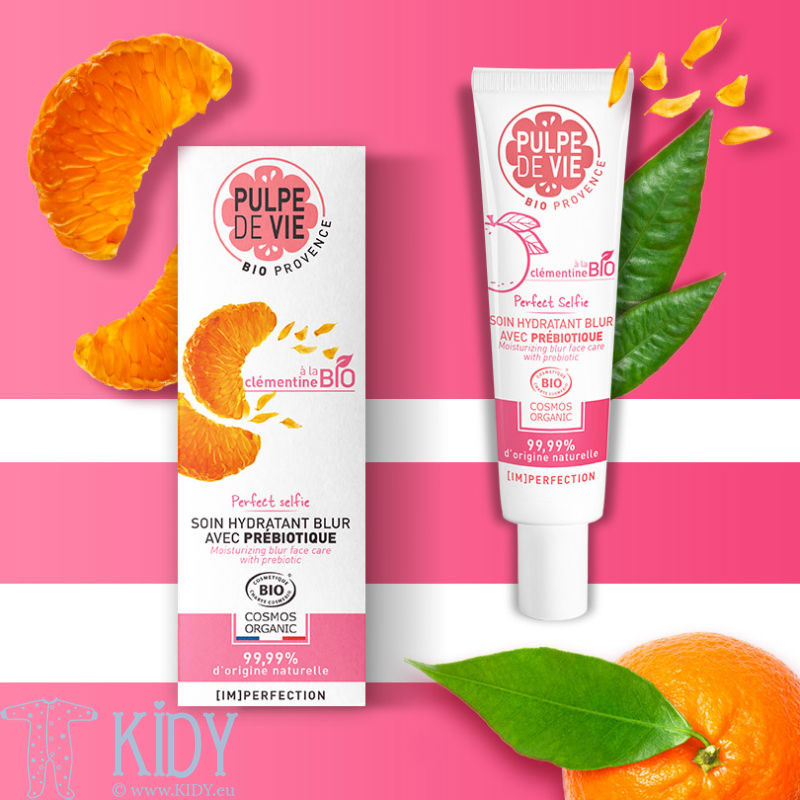 Probiotic Mattifying Skin Cream PERFECT SELFIE with Clementine Extract