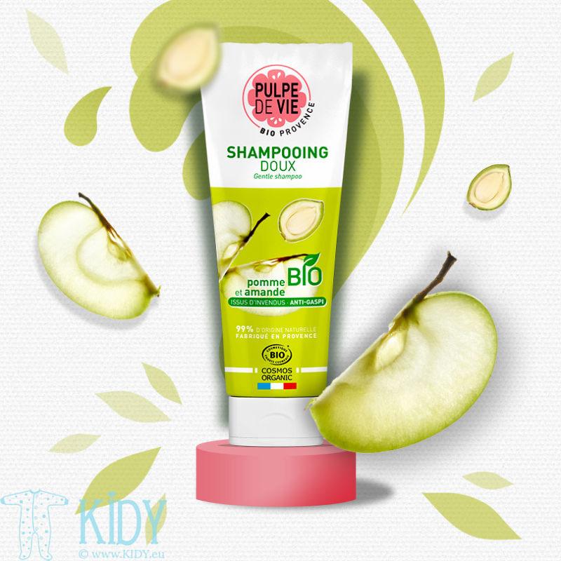 Organic Daily Apple Water Shampoo POMPOMPIDOUX