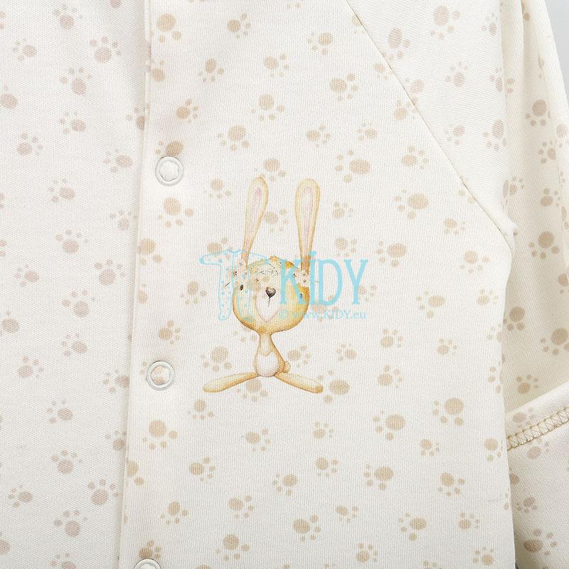 Ekru kombinezonas-pižama MIKI