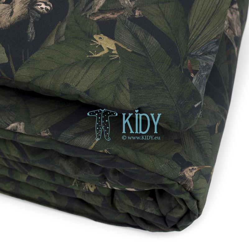 Patalynės komplektas Jungle Detectives: antklodė + pagalvė