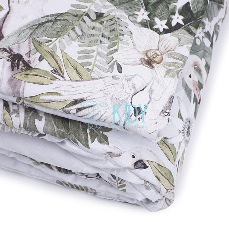 Patalynės komplektas Tropical Vibes: antklodė + pagalvė