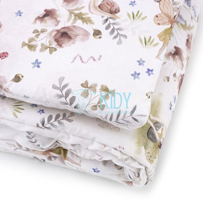 Patalynės komplektas Fairies: antklodė + pagalvė