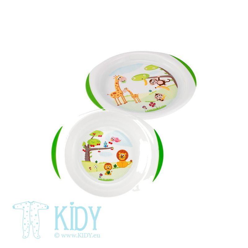 Dish set: plate and bowl (Chicco) 2