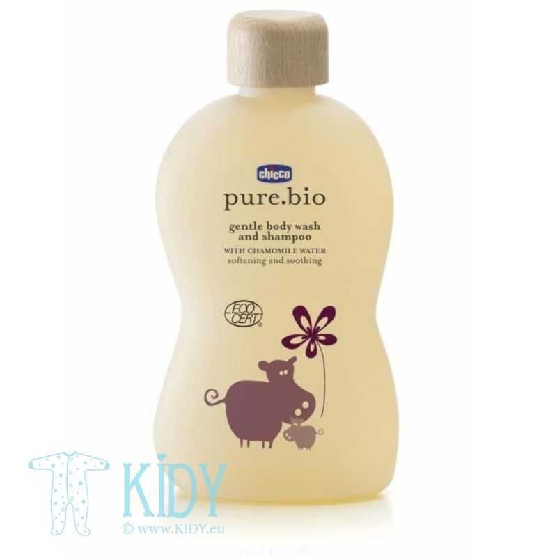 Baby shampoo and body wash PURE BIO