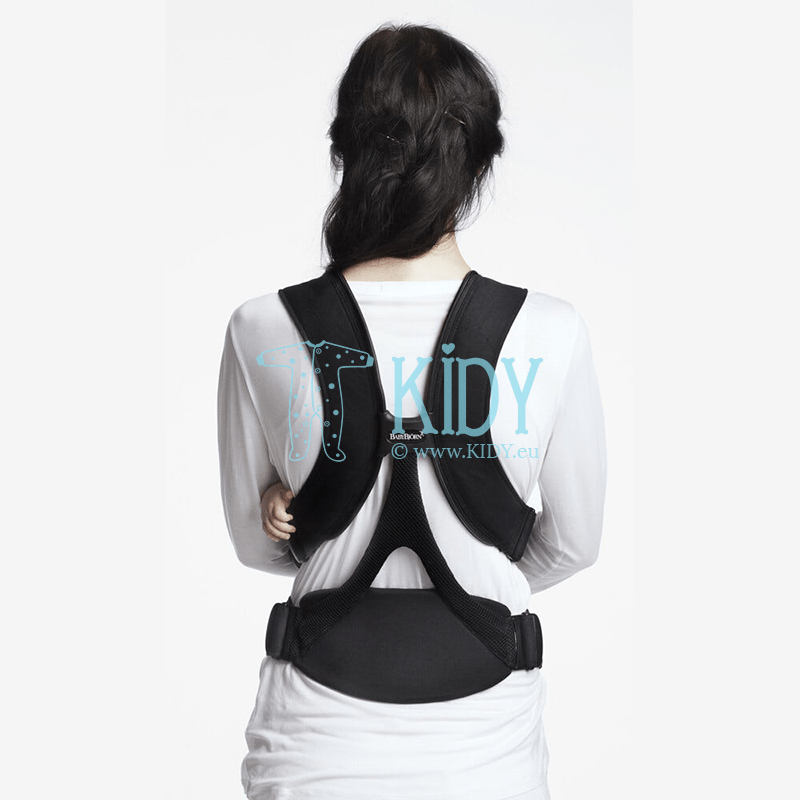 Baby carrier Miracle black/silver (BabyBjörn) 2