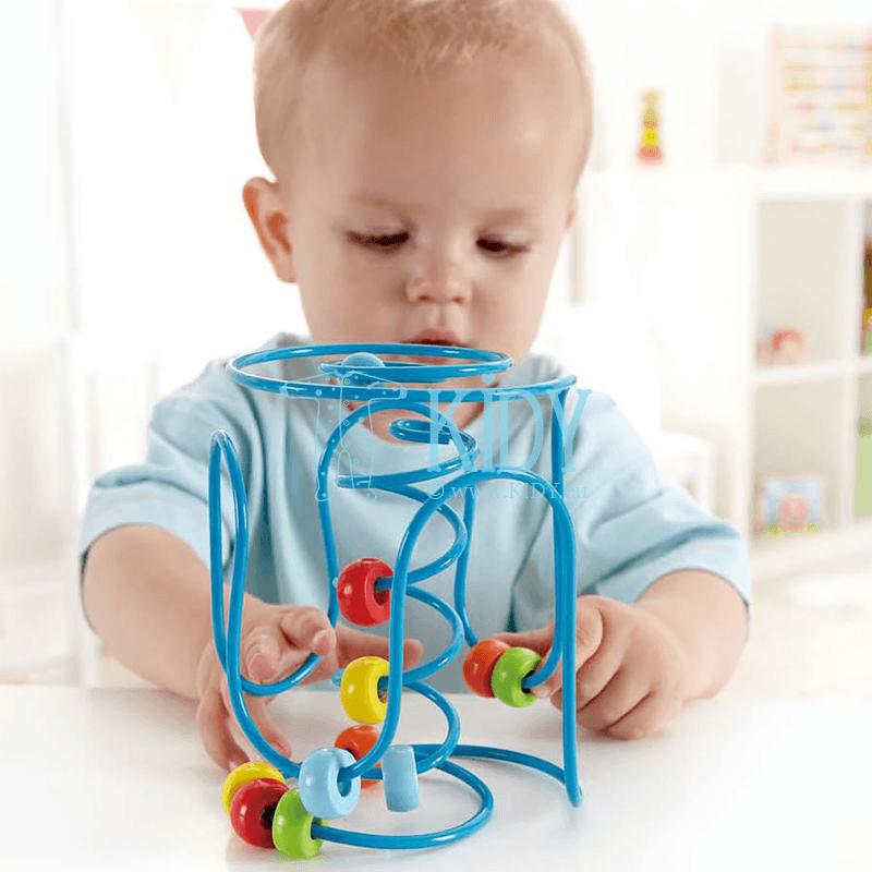 Lavinamasis žaislas SPRING-A-LING (Hape) 2