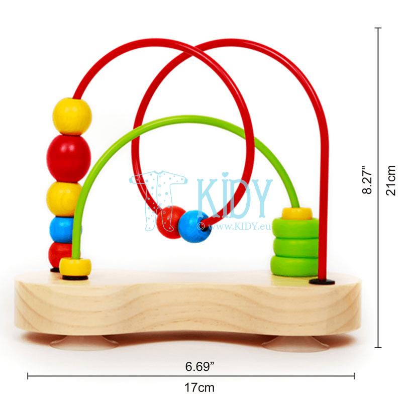 Lavinantis žaislas Dvigubas burbulas (Hape) 2