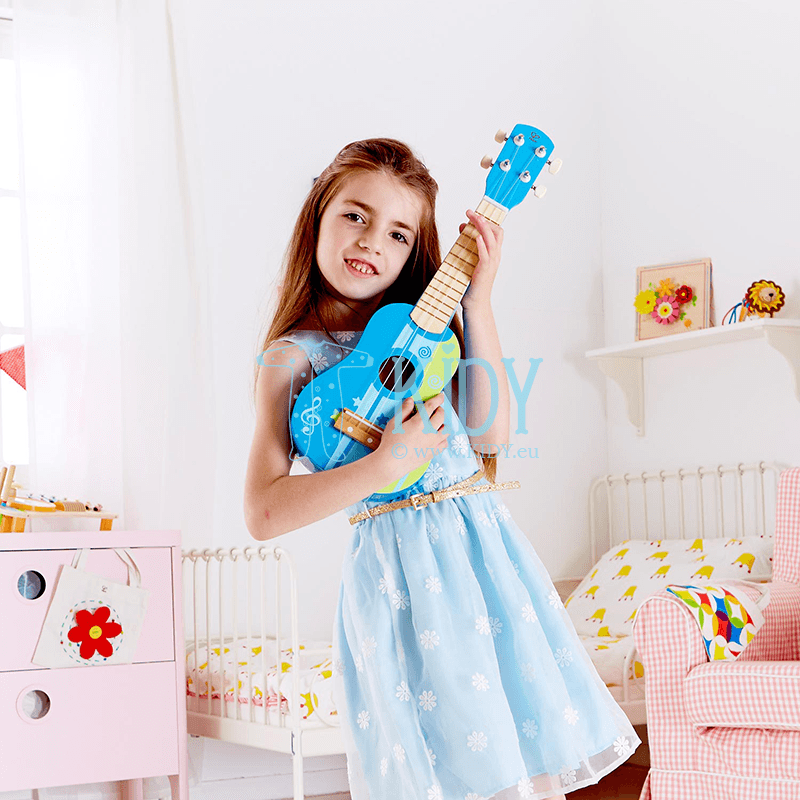 Mėlyna gitara (Hape) 2