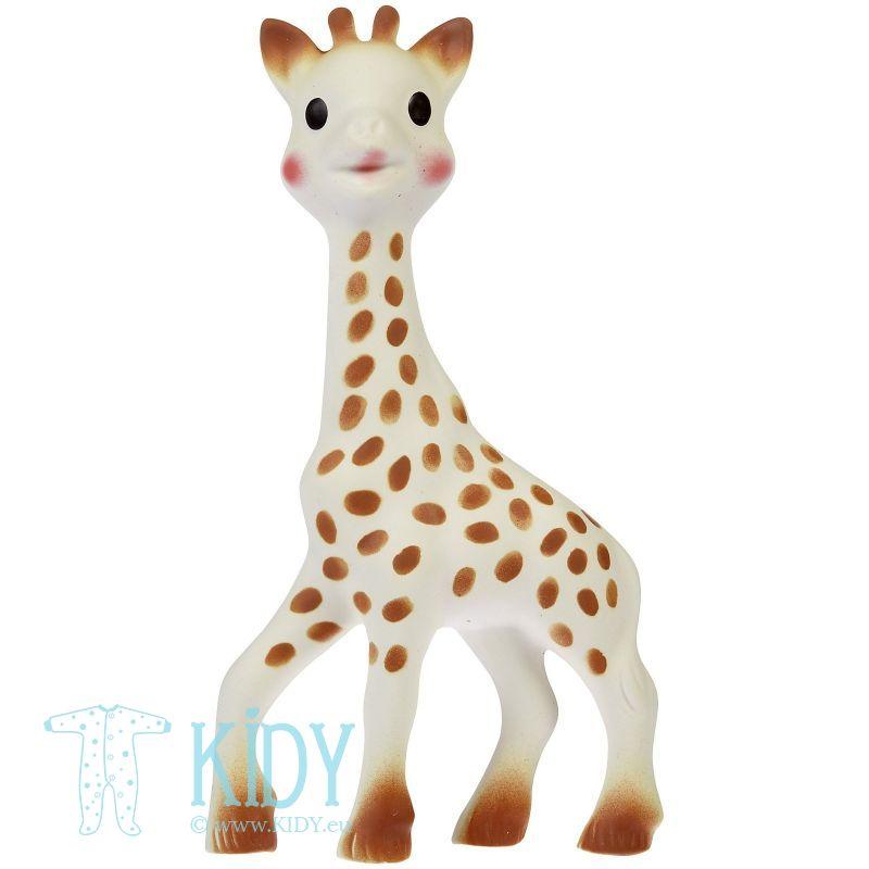Komplektas SOPHIE la Girafe: kramtukas + miego žaislas (Vulli) 2