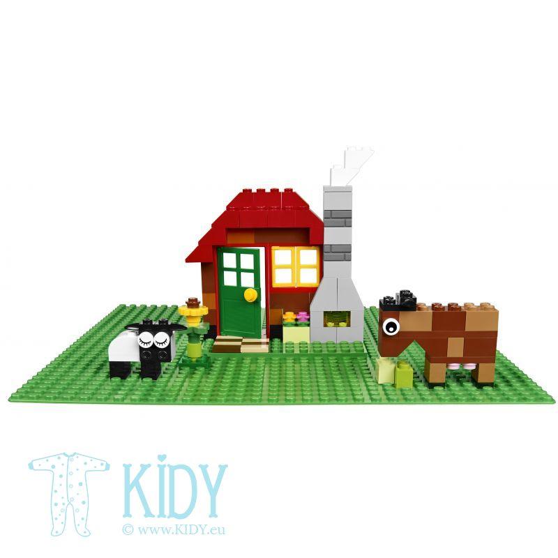 Базовая пластина LEGO CLASSIC Green Baseplate (LEGO) 2