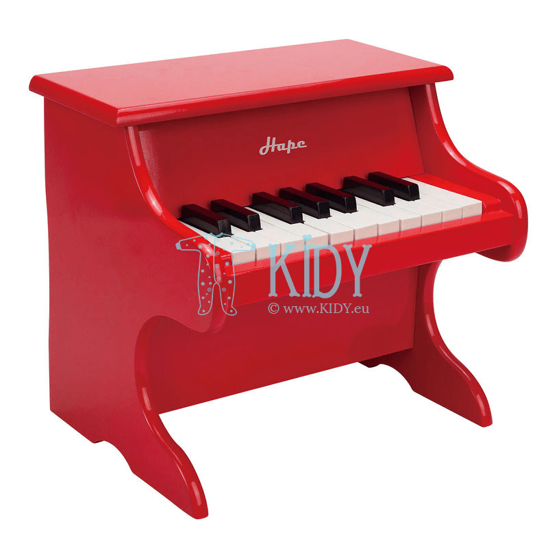 Red PLAYFUL PIANO (Hape) 2
