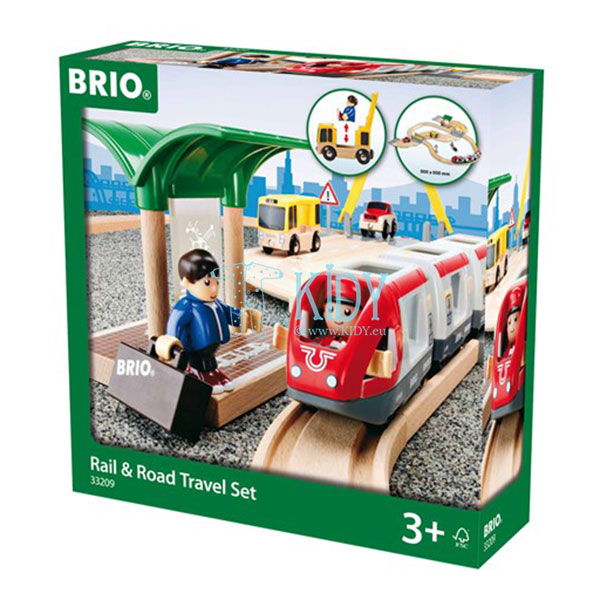 Rail & Road Travel Set (Brio) 2