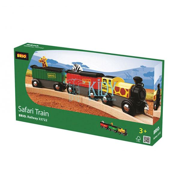 Traukinys Safaris (Brio) 2