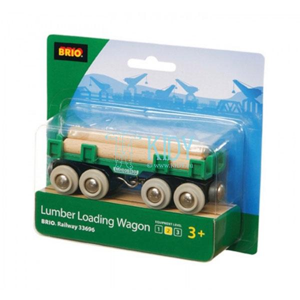 Vagonas medienai vežti