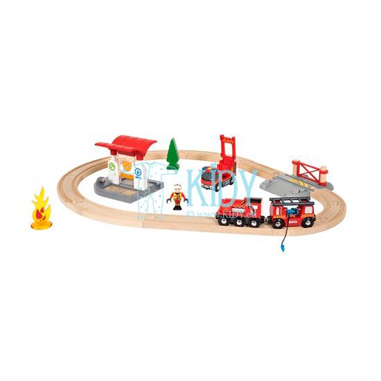 Пожарная станция (Brio) 2