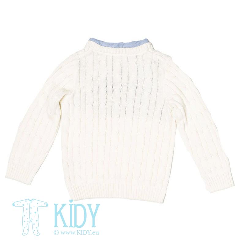 Baltas džemperis CAMDEN (Minoti) 2