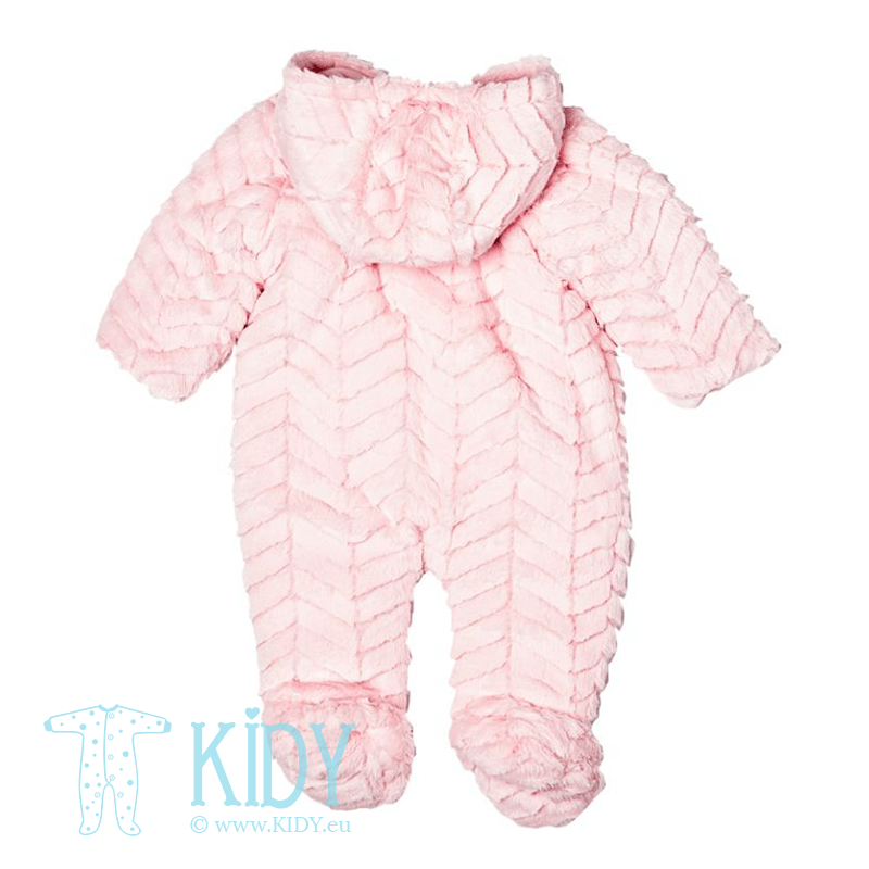 Baby pink snowsuit HOME (Babaluno) 2