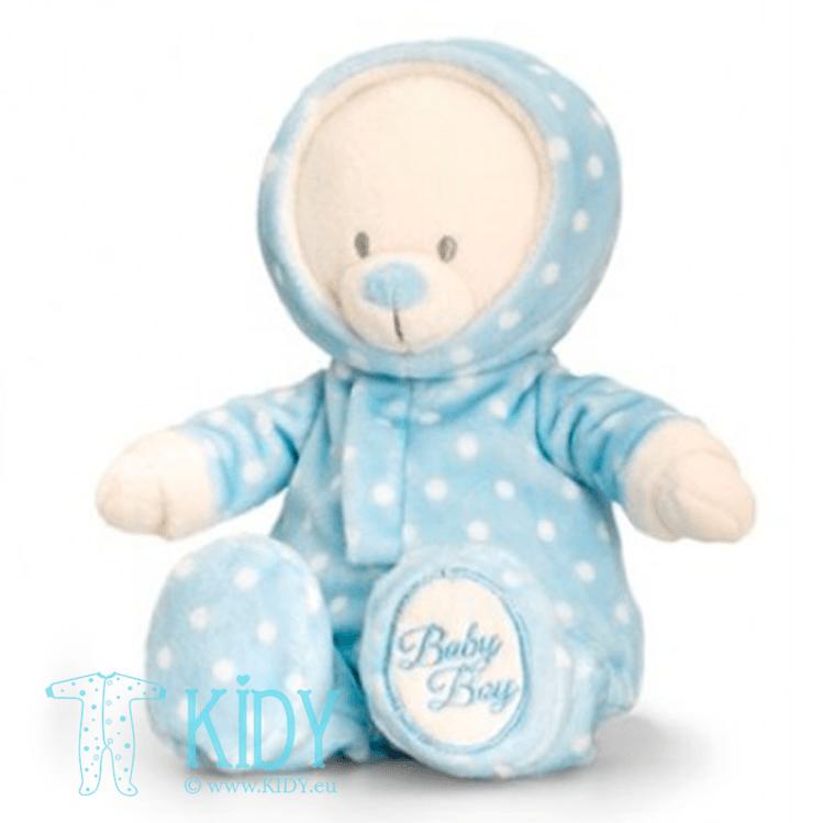 Blue baby bear ROMPERSUIT (Keel Toys) 2