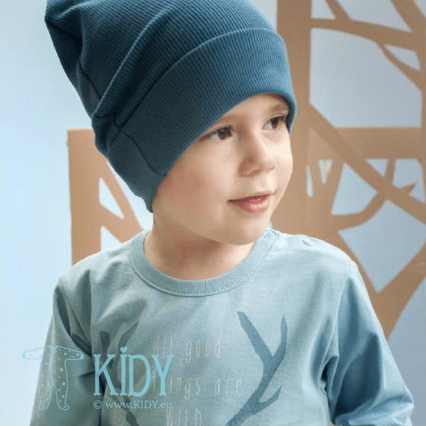 Синяя шапочка WILD BOY