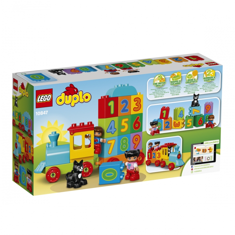 LEGO® DUPLO® Creative Play Number Train (LEGO) 2