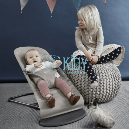 Bouncer Bliss Sand grey (BabyBjörn) 2