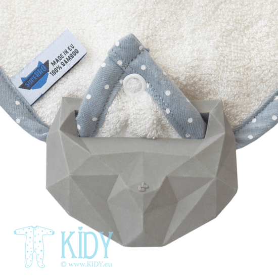 Creamy supeRRO bib with teether (Lullalove) 2
