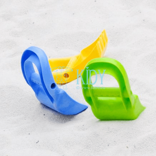 Sand toy hand digger blue