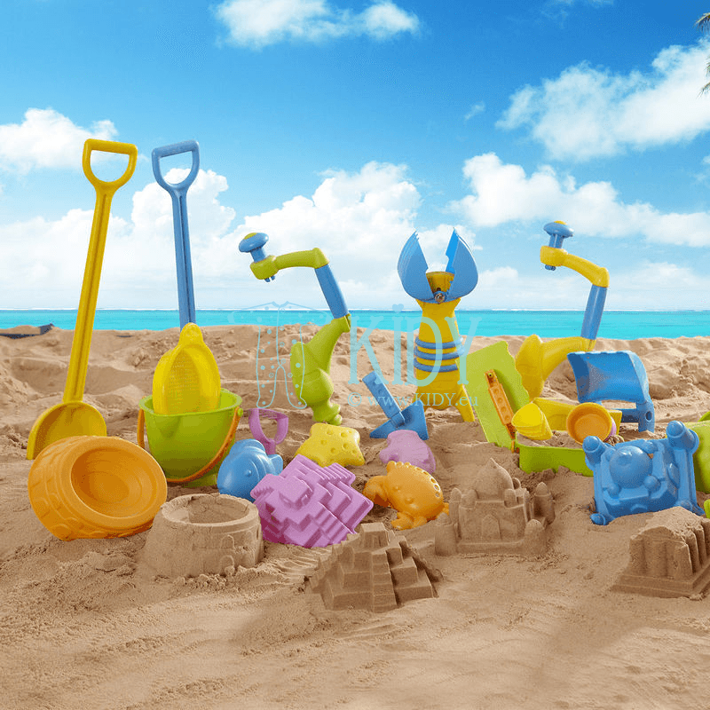 Smėlio žaislas GREAT CASTLE WALLS (Hape) 2