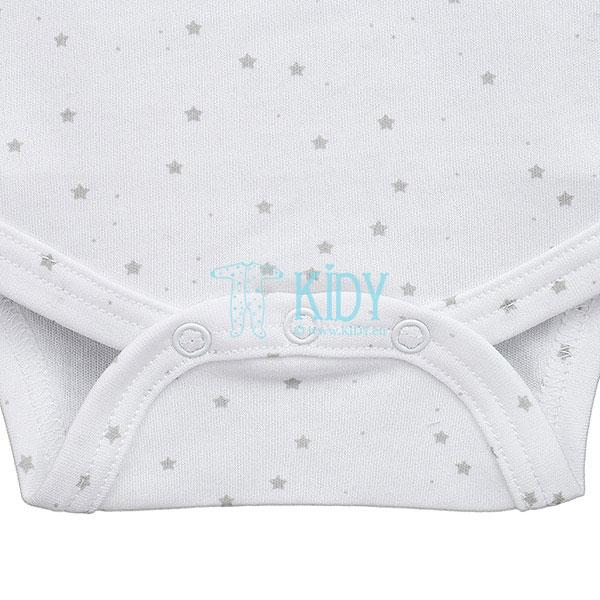 Baltas bodžiukas FLUFFY be rankovių (Lorita) 2