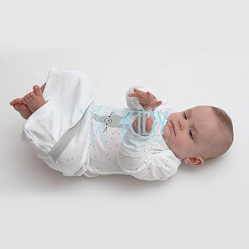White FLUFFY sleeping bag (Lorita) 2
