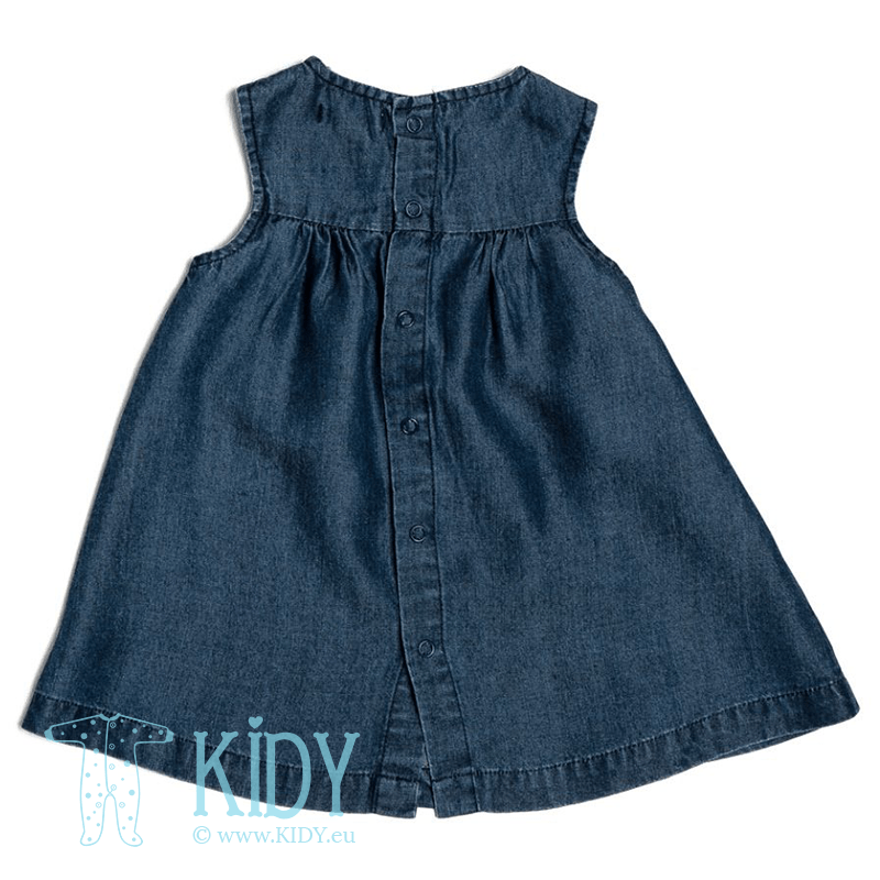 Denim BUTTERFLY dress with knicker (Babaluno) 2