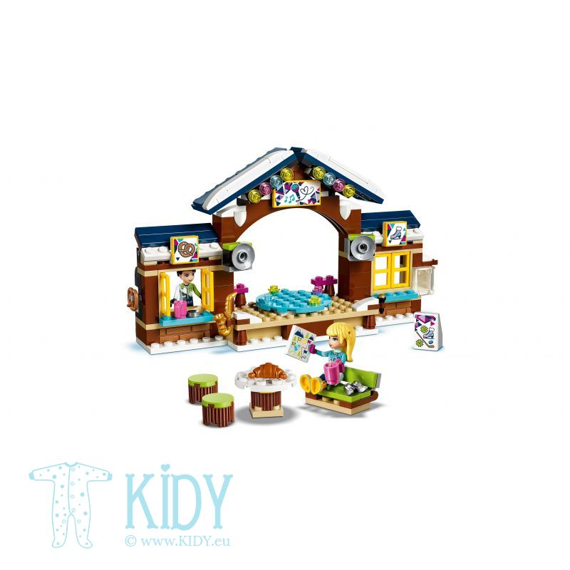 Снежный курорт LEGO Friends Snow Resort Ice Rink (LEGO) 2