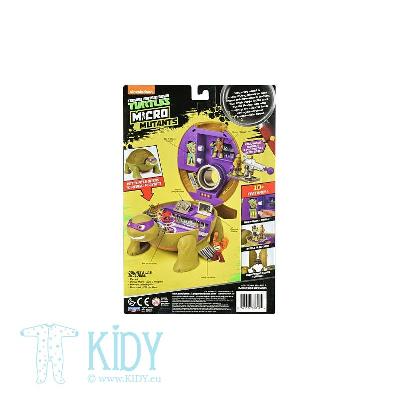 Playset Donatello's Lab (TMNT) 2