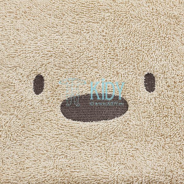 Brown hooded MESKUTIS towel (Lorita) 2