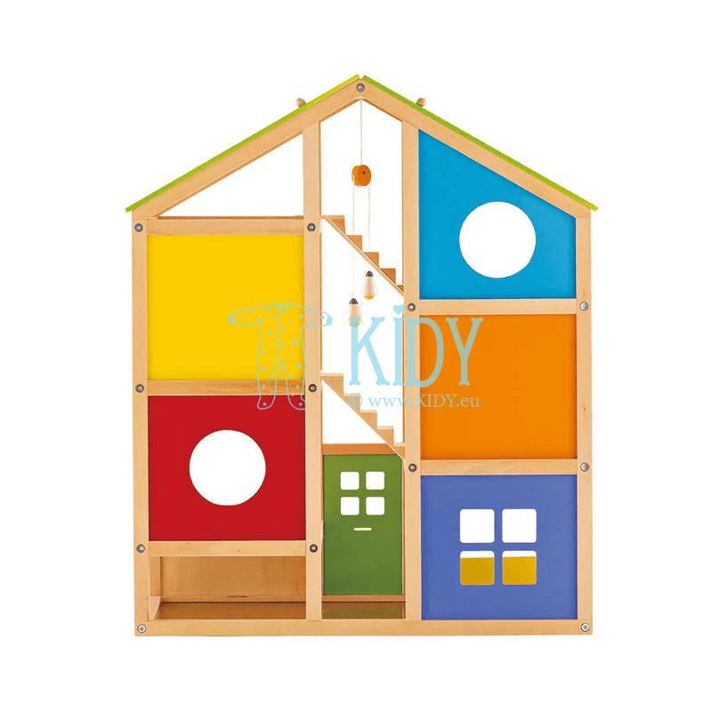 Деревянный игрушечный домик для кукол (Hape) 2