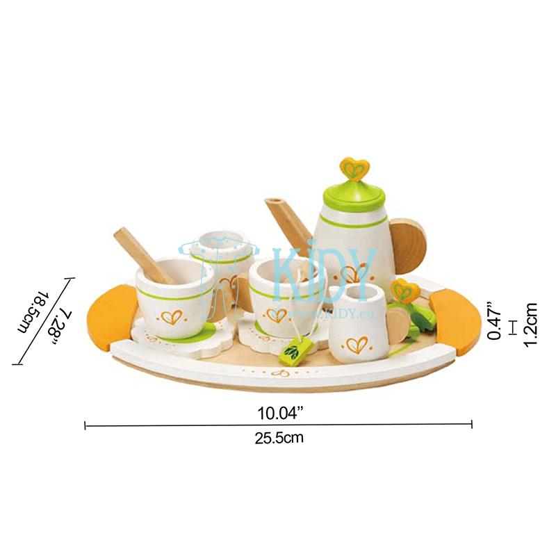 Деревянный чайный набор для двоих (Hape) 2