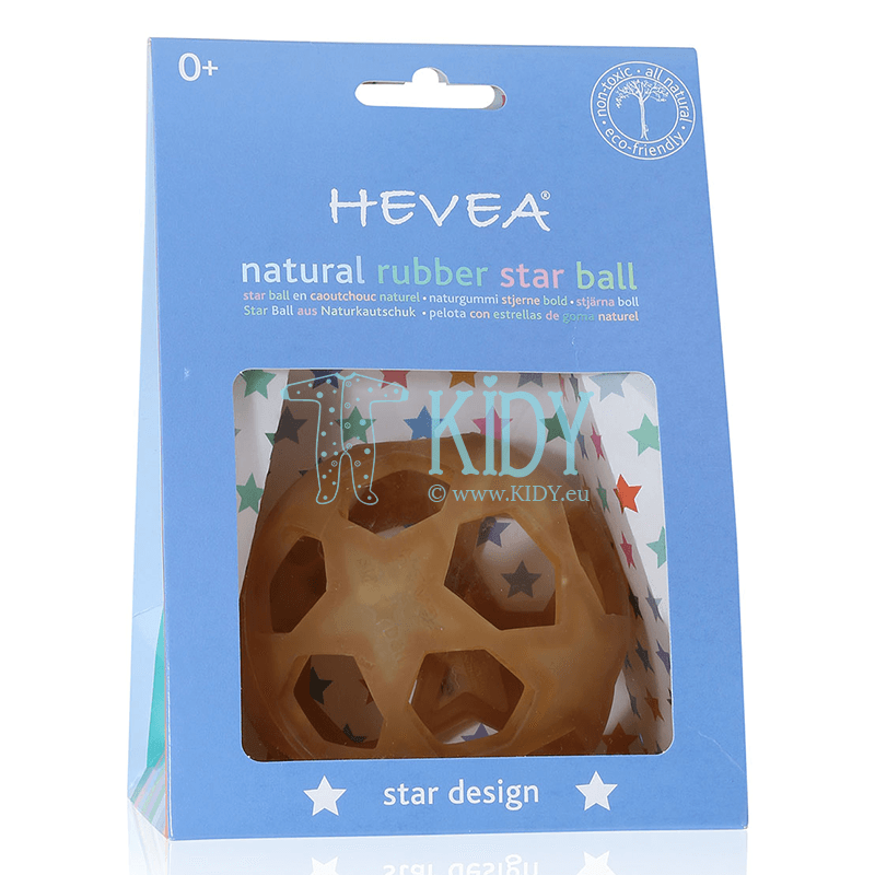 Guminis kamuolys STAR BALL NATURAL (Hevea Planet) 2