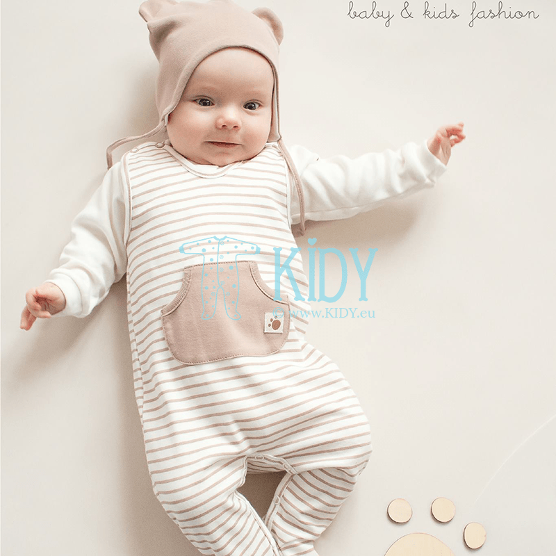 Beige TEDDY BEAR gungaree (Pinokio) 2