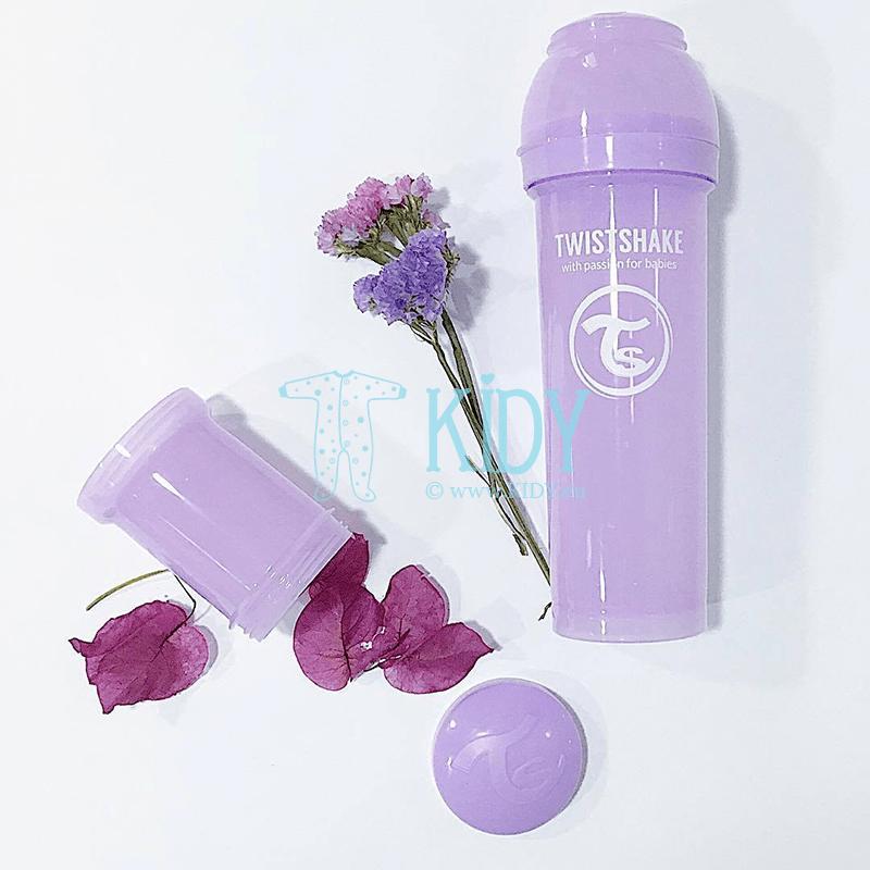 Violetinis buteliukas ANTI-COLIC (Twistshake) 2