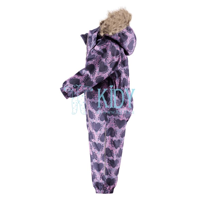 Purple HEARTS snowsuit (Lassie by Reima) 2