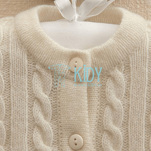 Knitted MERINO woolen cardigan (Lorita) 2