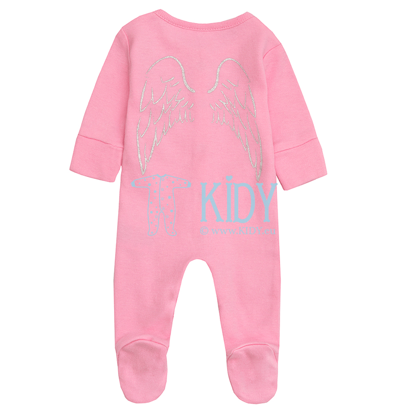 Pink ANGEL sleepsuit (Baby Town) 2