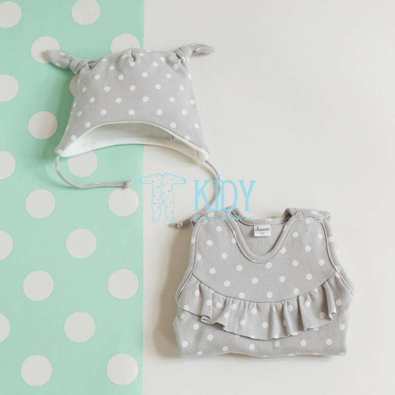 Grey UNICORN dungaree (Pinokio) 2