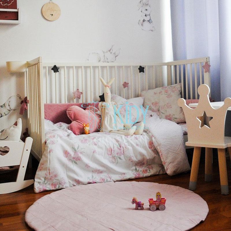 Patalynės komplektas Peonie: antklodė + pagalvė (MAKASZKA) 2