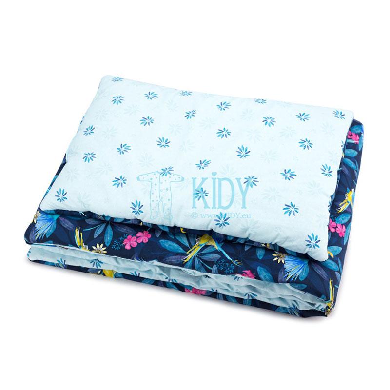 Patalynės komplektas Tropic: antklodė + pagalvė (MAKASZKA) 2