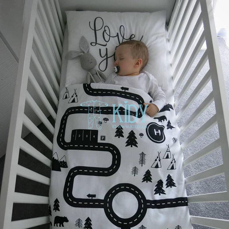 Patalynės komplektas Górska Droga: antklodė + pagalvė (MAKASZKA) 2