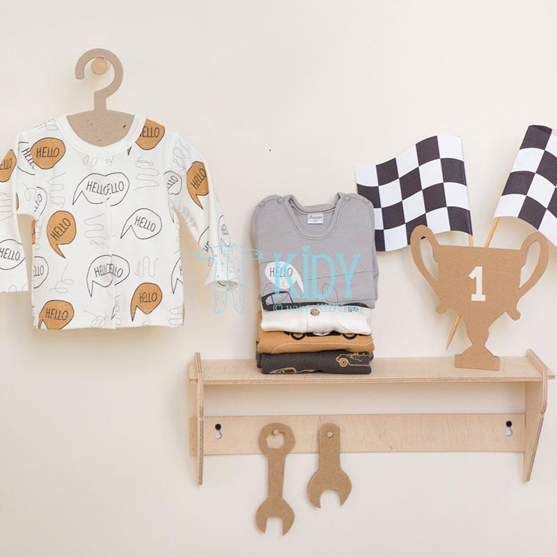 Ecru OLD CARS shirt (Pinokio) 2